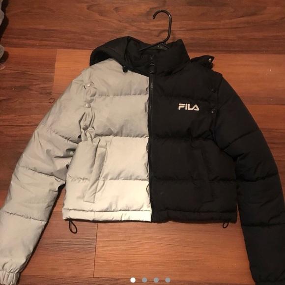 100% genuine cheapest exquisite design Fila Jackets & Coats | Puffer Coat | Poshmark